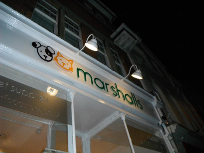 Marshalls Pet Food Store Home Delivery Reading - Opening Hours